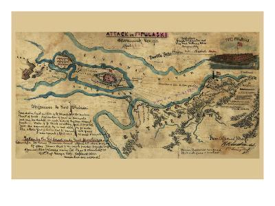 Savannah or Fort Pulaski No.1--Art Print
