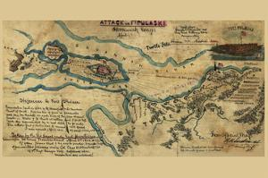 Savannah or Fort Pulaski No.1