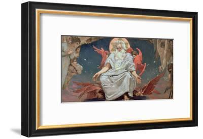 Savaoph, God the Father, 1885-96-Victor Mikhailovich Vasnetsov-Framed Giclee Print