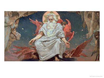 Savaoph, God the Father, 1885-96-Victor Mikhailovich Vasnetsov-Giclee Print