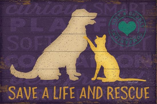 Save a Life Rescue-Jennifer Pugh-Art Print