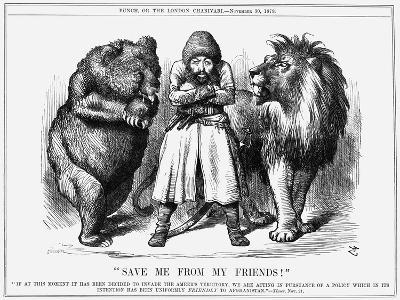 Save Me from My Friends!, 1878-Joseph Swain-Giclee Print