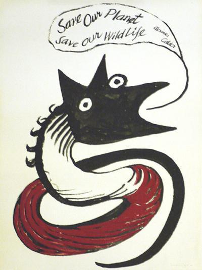 Save our Planet-Alexander Calder-Serigraph