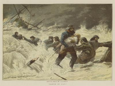 Saved at Last-Charles Joseph Staniland-Giclee Print