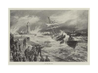 Saved from the Storm--Giclee Print