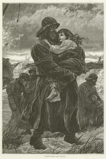 Saved from the Wreck--Giclee Print