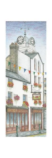 Savings Bank Clock, Ulverston, Cumbria, 2009-Sandra Moore-Giclee Print