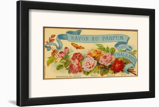 Savon au Parfum des Balkans--Framed Art Print