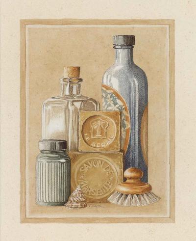 Savon de Marseille-Laurence David-Art Print