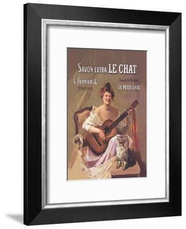 Savon Extra le Chat--Framed Art Print
