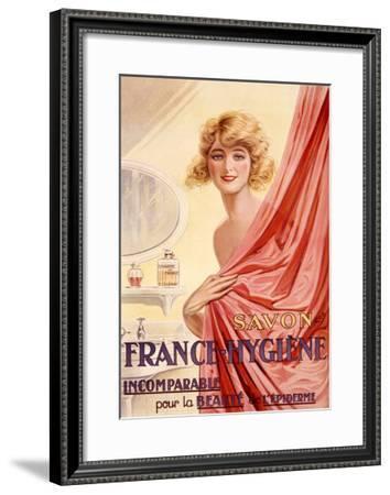 Savon France-Hygiene, 1925--Framed Giclee Print