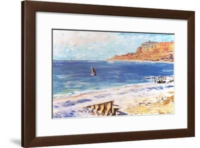 Savon La Roue-Claude Monet-Framed Art Print