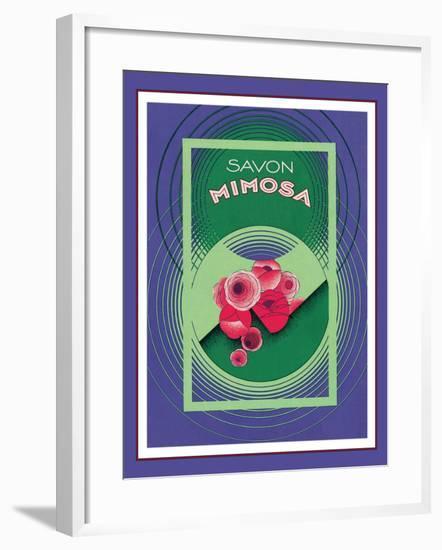 Savon Mimosa--Framed Giclee Print