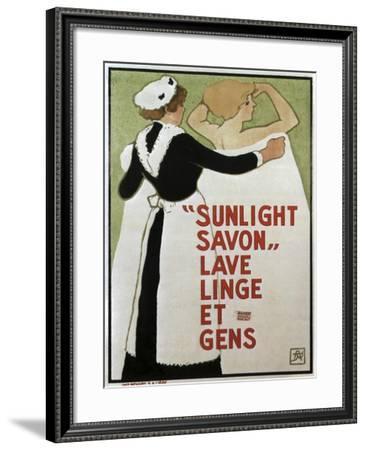 Savon Sunlight--Framed Giclee Print