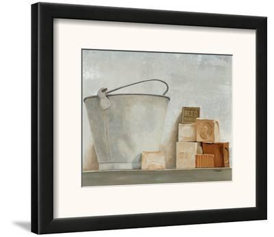 Savons II-Claudine Picard-Framed Art Print