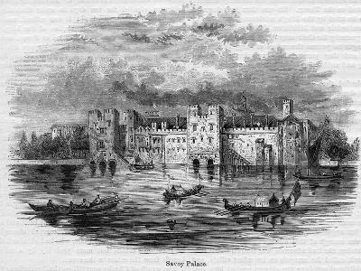 Savoy Palace, 1661--Giclee Print