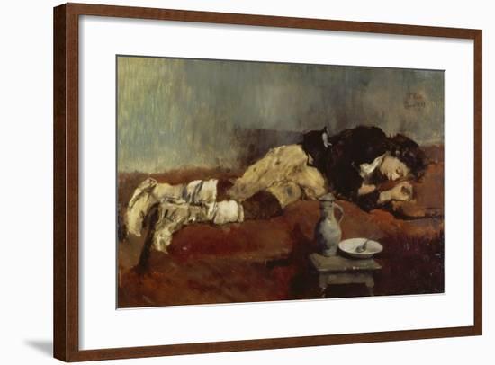 Savoyard Boy Sleeping, 1869-Wilhelm Leibl-Framed Giclee Print