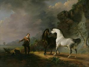 Gulliver Addressing the Houyhnhnms, 1769 by Sawrey Gilpin