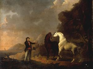 Gulliver addressing the Houyhnhnms by Sawrey Gilpin