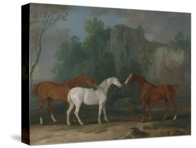 Three Hunters in a Rocky Landscape, 1775