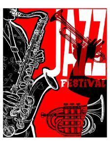 Saxaphone Jazz Festival Poster