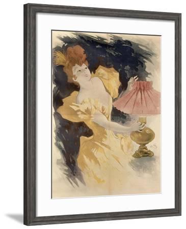 Saxoleine-Jules Chéret-Framed Giclee Print