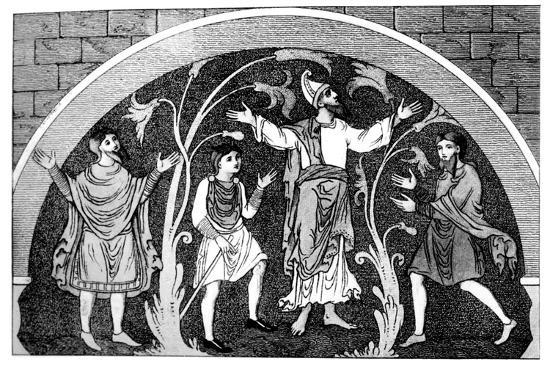 Saxon Dress--Giclee Print