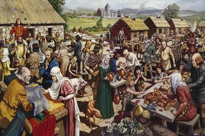 Saxon Village Fair-Mike White-Giclee Print