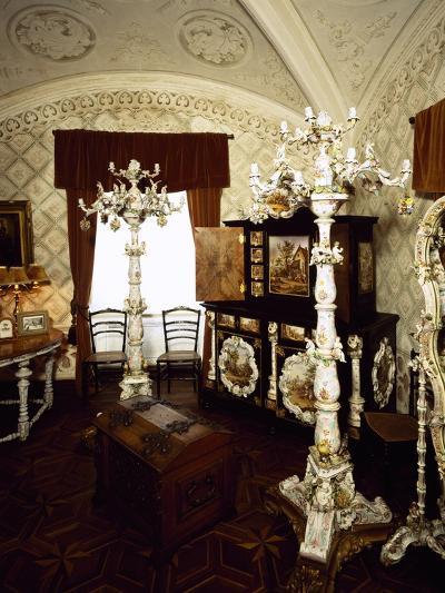 Saxony Porcelain Room in Palacio Nacional Da Pena, Sintra--Photographic Print