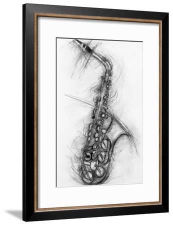 Saxophone 2005-Penny Warden-Framed Premium Giclee Print
