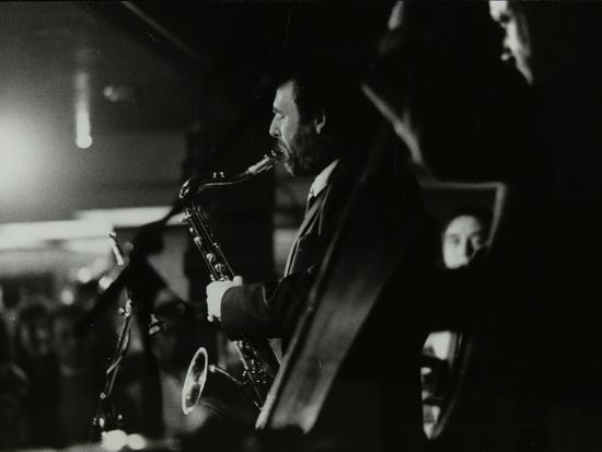 Saxophonist Bob Sydor Playing at the Torrington Jazz Club, Finchley, London, 1988-Denis Williams-Photographic Print