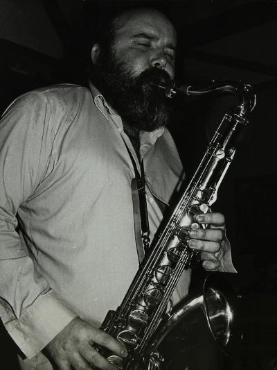 Saxophonist Don Weller Playing at the Bell, Codicote, Hertfordshire, 28 October 1980-Denis Williams-Photographic Print