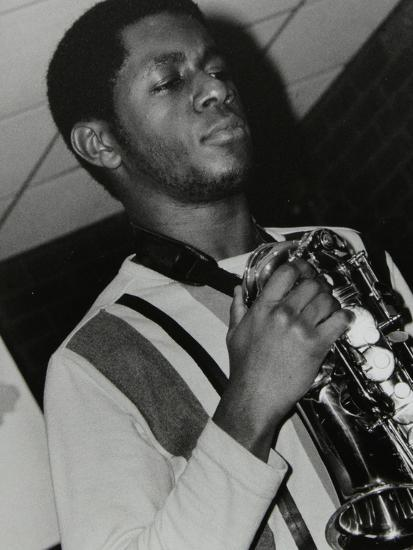 Saxophonist Nathaniel Facey at the Fairway, Welwyn Garden City, Hertfordshire, 25 January 2004-Denis Williams-Photographic Print