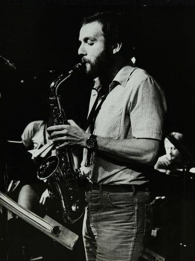Saxophonist Phil Todd Playing at the Stables, Wavendon, Buckinghamshire-Denis Williams-Photographic Print