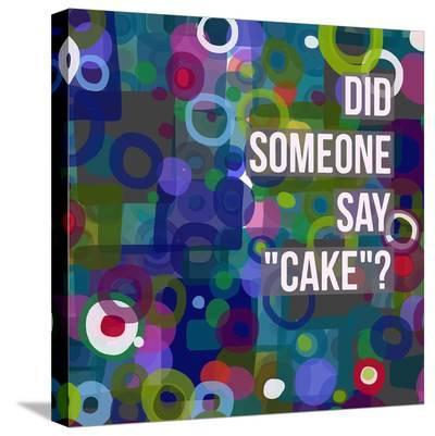 Say Cake 6-Marian Nixon-Stretched Canvas Print