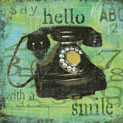 Say Hello With a Smile-Carol Robinson-Art Print