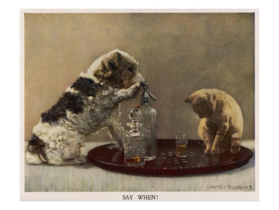 Say When - David Duggins--Giclee Print