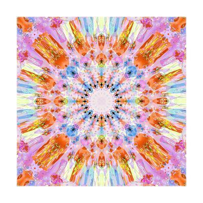 Say Yes Mandala-Alaya Gadeh-Art Print