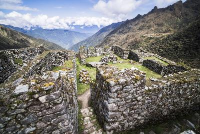 Sayacmarca (Sayaqmarka) Inca Ruins, Inca Trail Trek Day 3, Cusco Region, Peru, South America-Matthew Williams-Ellis-Photographic Print