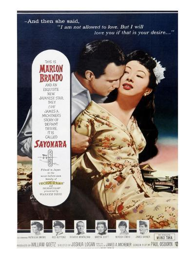 Sayonara, 1957--Photo