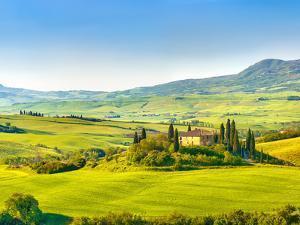 Beautiful Landscape in Tuscany, Italy by sborisov
