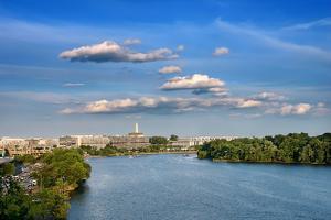 Potomac River, Washington DC by sborisov