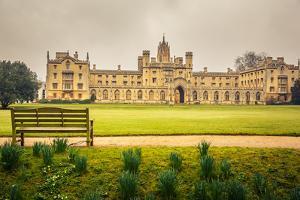 St John's College in Cambridge University by sborisov