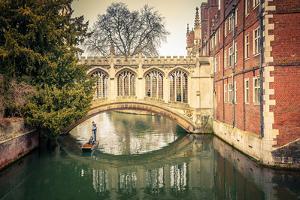 The Bridge of Sigh at Saint John's College, Cambridge by sborisov