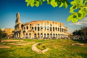 View on Colosseum in Rome, Italy by sborisov
