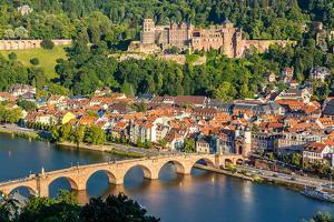 View on Heidelberg, Germany by sborisov