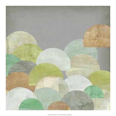 Scalloped Landscape I-Jennifer Goldberger-Giclee Print