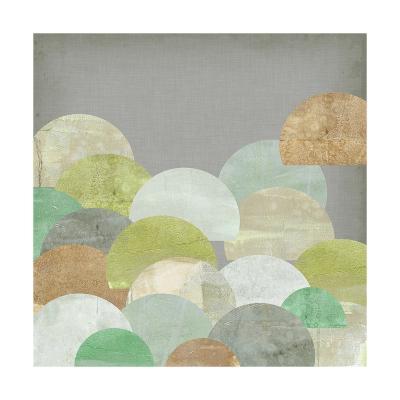 Scalloped Landscape I-Jennifer Goldberger-Art Print