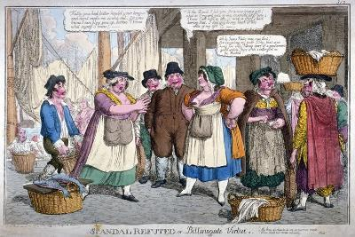 Scandal Refuted, or Billingsgate Virtue, 1818-C Williams-Giclee Print
