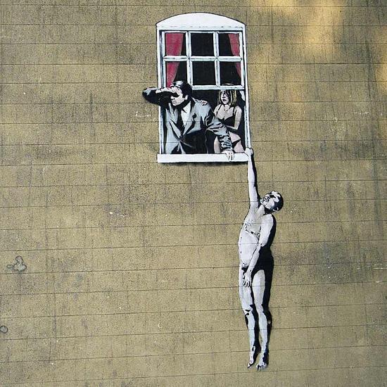 Scandal-Banksy-Giclee Print